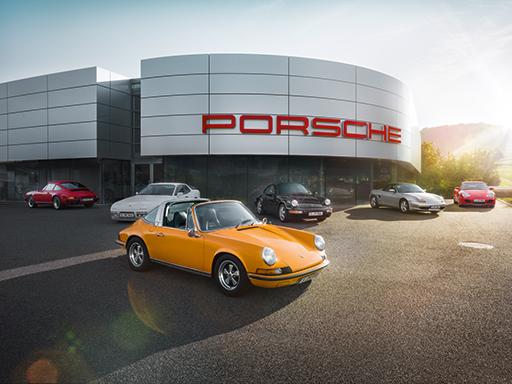 Porsche Classic Partner.